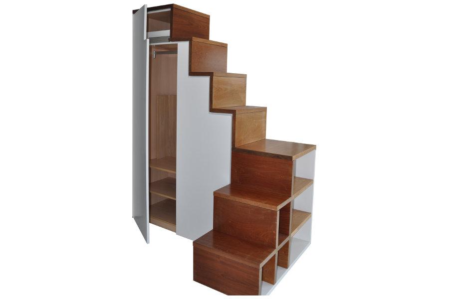 armarios hueco escalera mudeyba