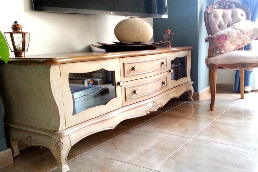 Muebles estilo franc s provenzal mudeyba - Muebles estilo neoclasico ...