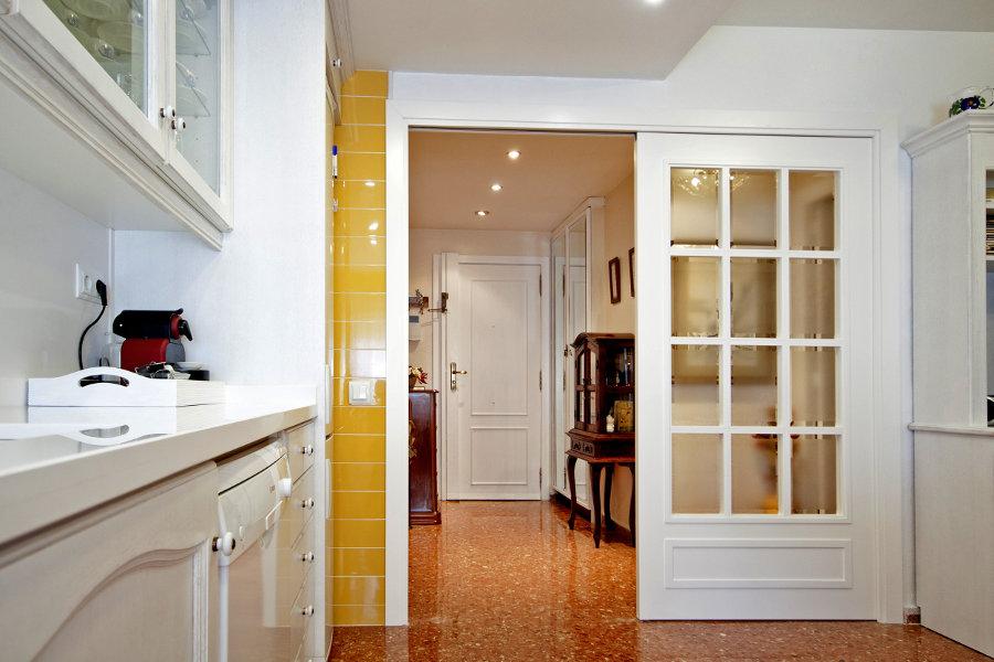 Puertas correderas cristal cocina trendy inspirador - Puerta corredera doble ...