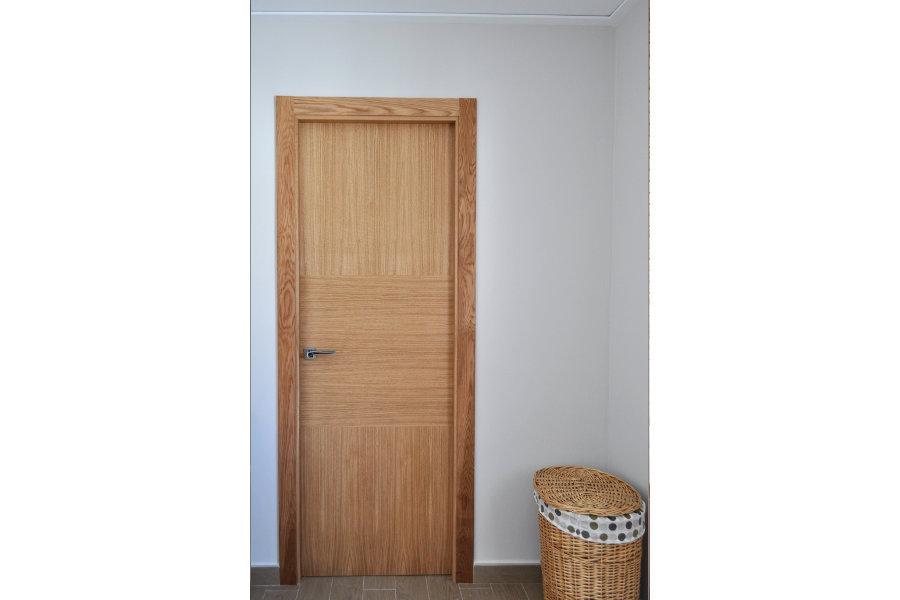 Puerta de interior roble