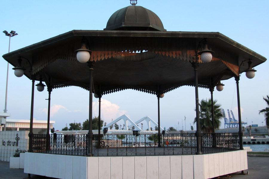 Pergola puerto Valencia